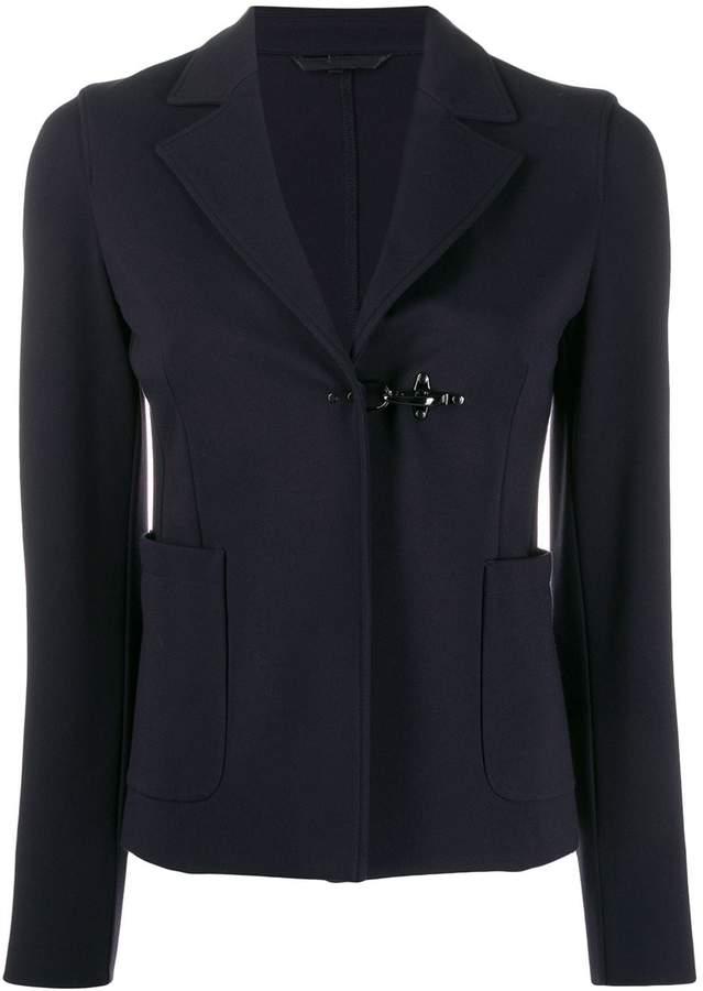 new concept 73b99 c99b6 clasp fastened blazer