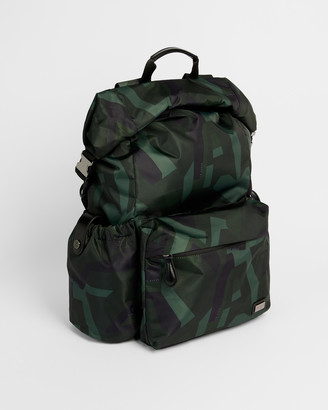 Ted Baker ENGIN Camo Print Paper Touch Nylon Backpack