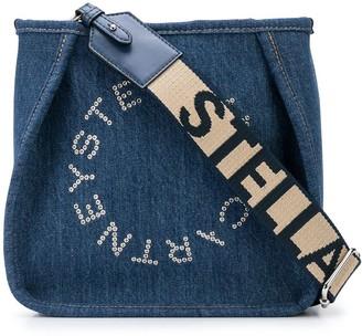 Stella McCartney Stella Logo denim shoulder bag