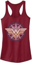 Licensed Character Juniors' DC Comics Wonder Woman Symbol Tank Top