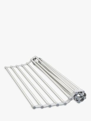 iDesign Over Sink Drain Board, Silver