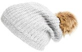 Sole Society Pom Knit Beanie