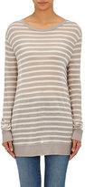 Alexander Wang Women's Striped Long Sleeve T-Shirt-CREAM, NO COLOR