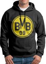 Sarah Men's Borussia Dortmund BVB 09 Logo Hoodie M