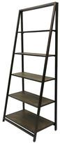"Laurel Foundry Modern Farmhouse Walcott 5 Shelf 72"" Leaning Bookcase"