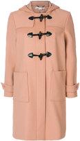 Stella McCartney hooded duffle coat - women - Cotton/Polyamide/Viscose/Wool - 40