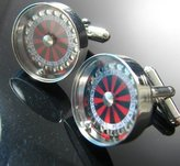 Off The Cuff Roulette Cufflinks (With Gift Box)