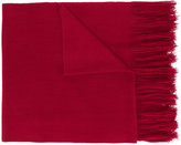 Isabel Marant fringed scarf - women - Cashmere - One Size