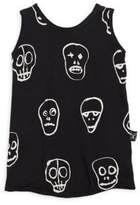 Nununu Toddler's, Little Boy's& Boy's Skull Mask Tank Top