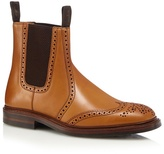 Loake Tan Elasticated Insert Ankle Boots