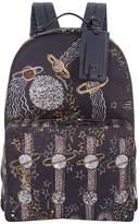Valentino Garavani Zandra Rhodes Space Print Backpack