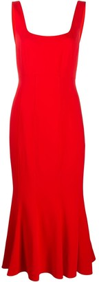 Veronica Beard Gloria fishtail dress