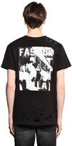 Les (Art)ists Fashion La Printed Cotton Jersey T-Shirt