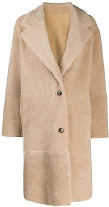 IRO Reversible Single-Breasted Coat