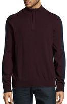 Perry Ellis Quarter-Zip Sweater