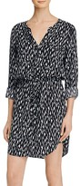Soft Joie Cassina Printed Shirt Dress