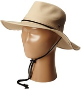 San Diego Hat Company Kids - CTK3434 Outdoor Hat w/ Side Snap Brim And Chin Cord Caps