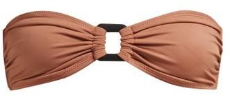 Solid & Striped Tati Bandeau Bikini Top - Womens - Brown