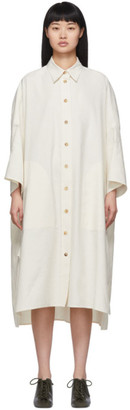 Joseph White Moroccan Linen Dress