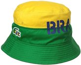 Lacoste Men's Sport Supporter Flag Crocodile Bucket Hat