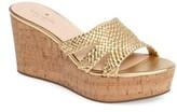 Kate Spade Women's Tarvela Wedge Sandal