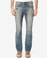 Buffalo David Bitton Men's Boot-Cut Ripped Jeans