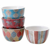 Certified International Spice Route 4-pc. Ice Cream Bowl