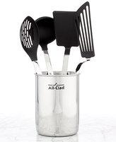 All-Clad Nonstick 5 Piece Kitchen Utensil Crock Set