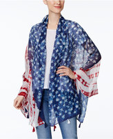 Steve Madden Batik Day Wrap & Scarf in one