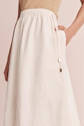 Country Road Full Organically Grown Linen Skirt