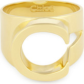 Chloé Alphabet C ring