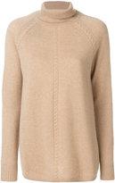 Max Mara Studio roll neck knit sweater