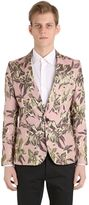Christian Pellizzari Lurex Floral Jacquard Jacket For Lvr