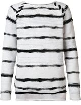 Baja East striped jumper - men - Cashmere/Wool - 3