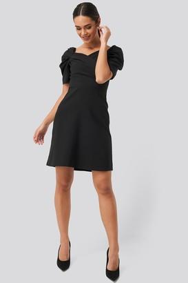Trendyol Sleeves Flywheel Mini Dress