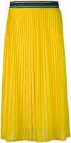 Paul Smith pleated midi skirt - women - Silk/Polyamide/Acetate - 44