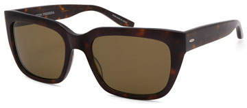 Barton Perreira Men's Vesuvio Dark Walnut Sequoia Polarized Sunglasses