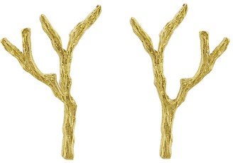 Cathy Waterman Tree Branch Stud Earrings