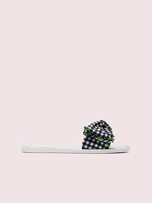 Kate Spade Bikini Bow Slide Sandals