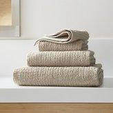 Crate & Barrel Ribbed Sand Bath Towels
