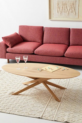 Ethnicraft Oak Mikado Coffee Table By in Beige Size XS