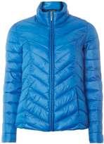 Dorothy Perkins Blue Chevron Pack-A-Jacket