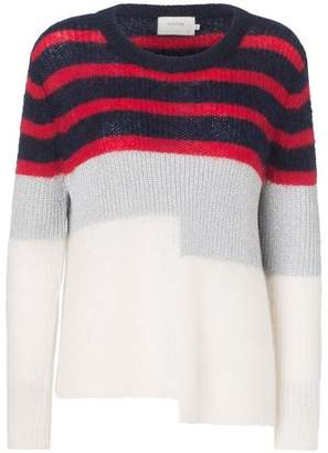 Tula Munthe - Navy Striped Knit Sweater - 36 - Red/Blue/White