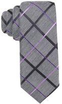 Alfani Men's Purple Skinny Tie, Created for Macy's