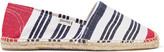 Soludos + Lemlem Original Dali Meron striped canvas espadrille