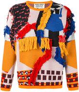 Henrik Vibskov abstract textured jumper - unisex - Cotton/Acrylic - M