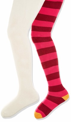 Playshoes Girl's Warme Thermo-Strumpfhosen Block-Ringel Tights