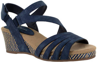 Easy Street Shoes Womens Lee Wedge Sandals