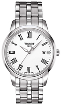 Tissot T0334101101301 Classic Dream Date Bracelet Strap Watch, Silver/white
