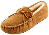 Minnetonka Men's Sheepskin Softsole Moccasin mukluks-and-moccasins 16 M